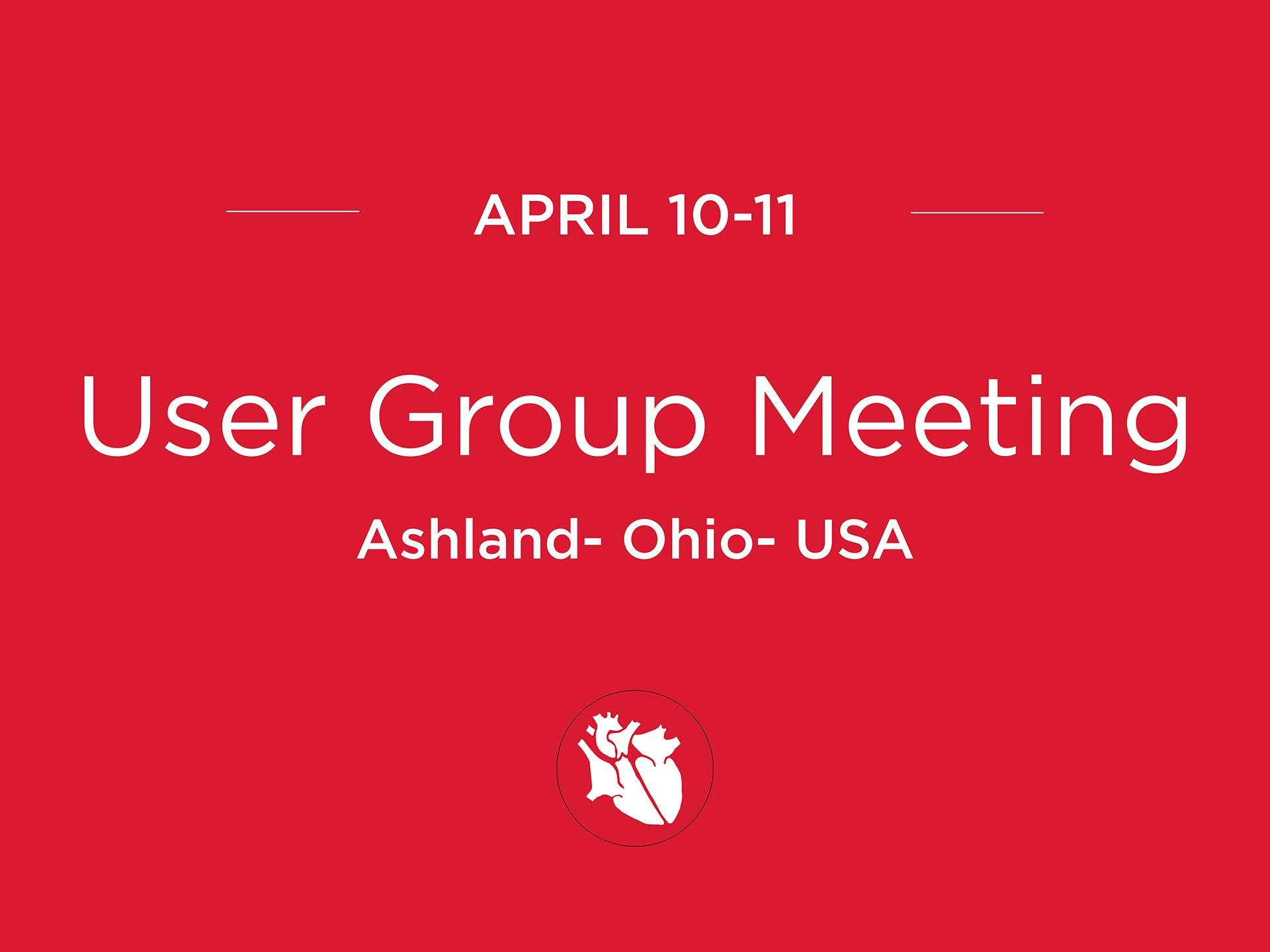 User Group Meeting – USA UGM2018 USA April